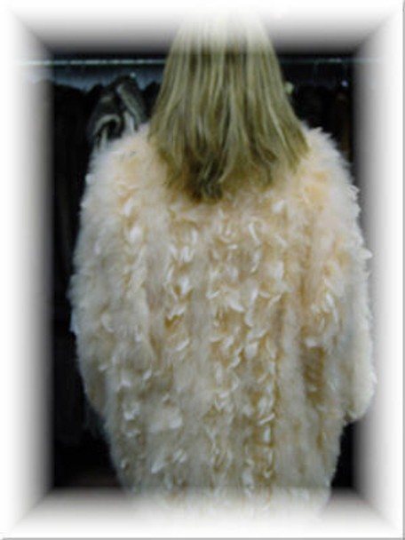 Elegant Ostridge Feather Jacket 3