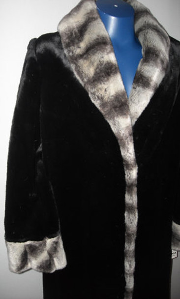 Faux Fur Designer Long Coat 4