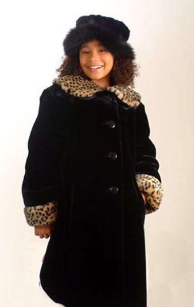 Kids Faux Beaver Jacket