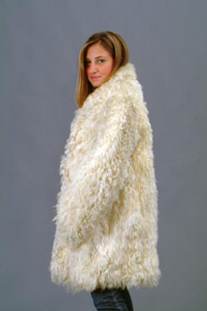 Vintage Fur Curly Lamb Jacket