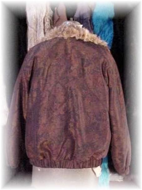 Reversible Asti Fur Jacket with Lynx Lining