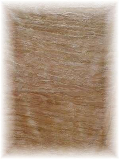 Sheared Natural Light Beaver Fur Blanket