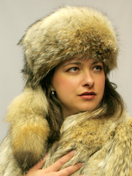 bae458c874f New Coyote Daniel Boone Hat - furoutlet - fur coat
