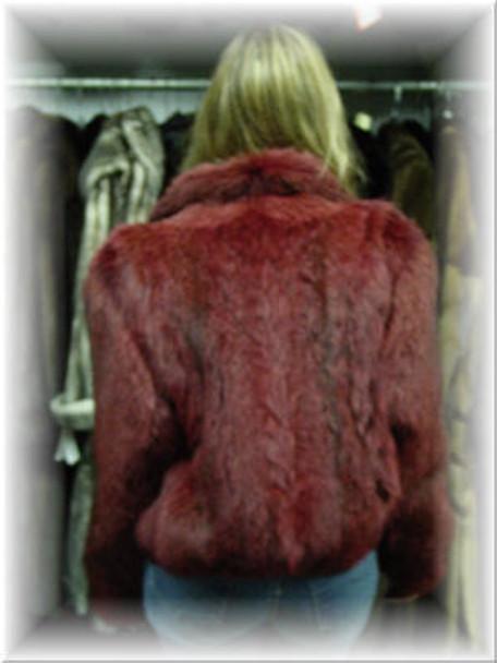 Fox Bolero Fur Jacket