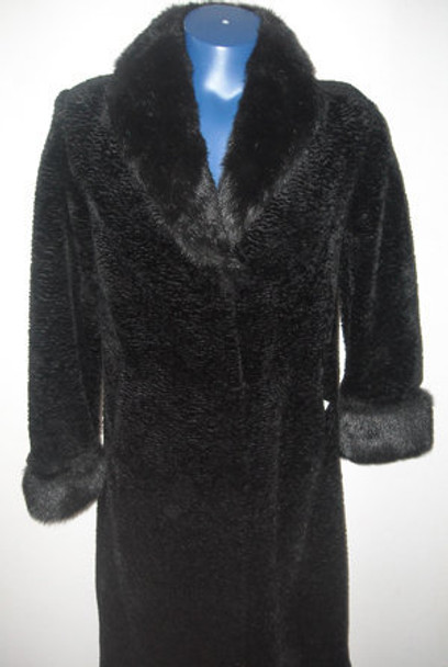 Faux Fur Long Coat 5