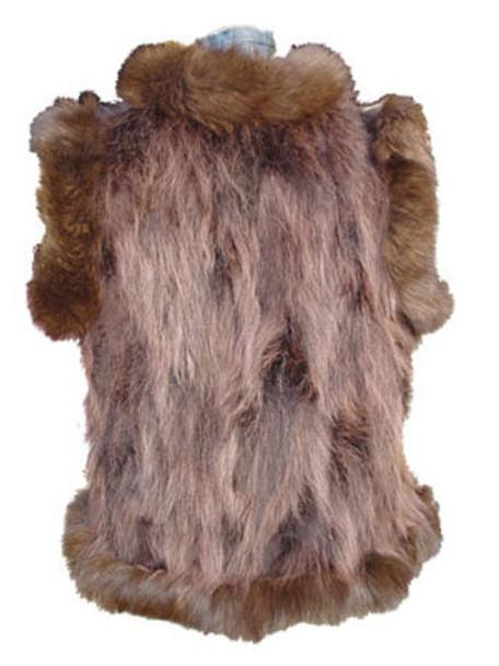 Natural Raccoon Vest