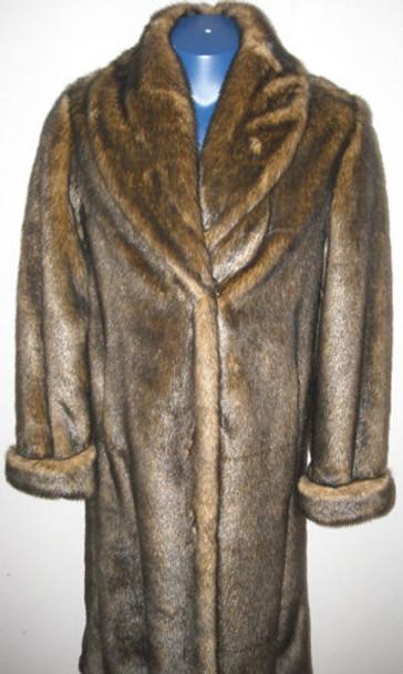 Faux Fur Designer Long Coat 9