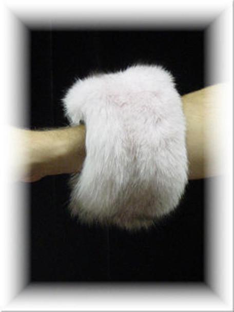 Full Skin Fox Fur Cuffs 8