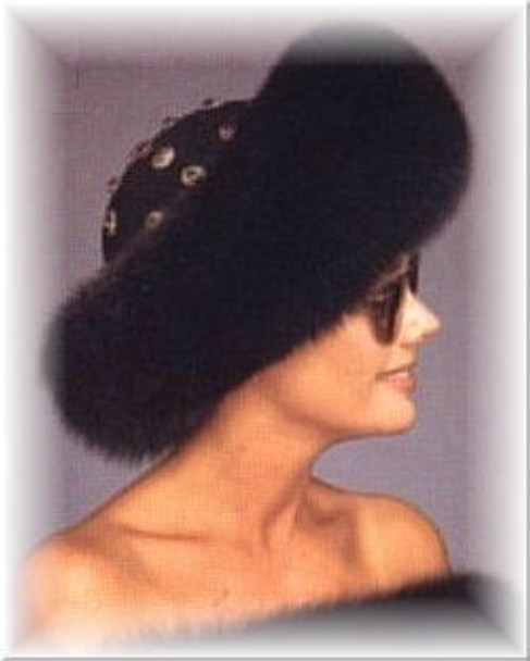 Large Fox Roller Fur Hat