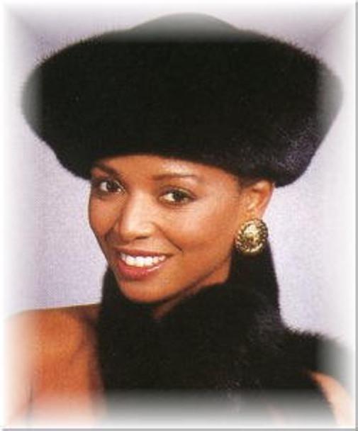 Mink Shako Felt Crown Fur Hat