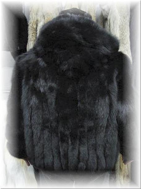Black Fox Bomber Jacket