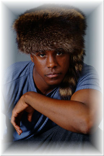 Raccoon Boone Fur Hat 1