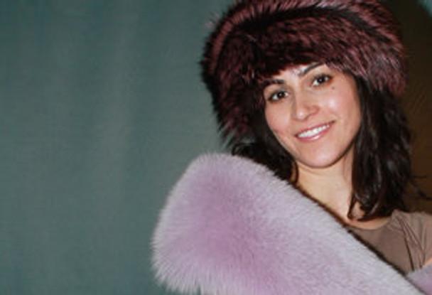 Full Pelt Fox Fur Boa