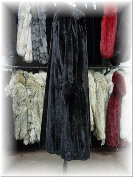 Full Skin Mink Fur Coat 1