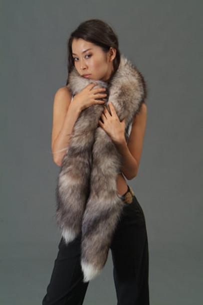 Indigo Fox Boa