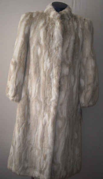 Faux Fur Long Coat 1