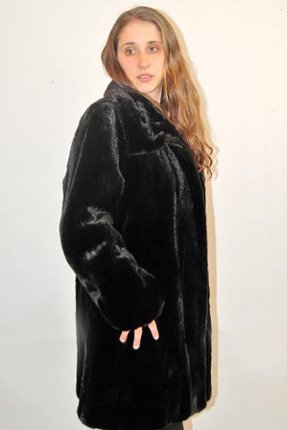 Mink Fur 3/4 Jacket