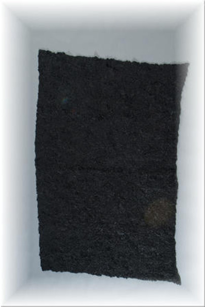 Black Mink Fur Plate