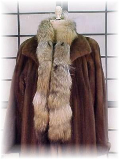 Coyote Fur  Boa and Scarf