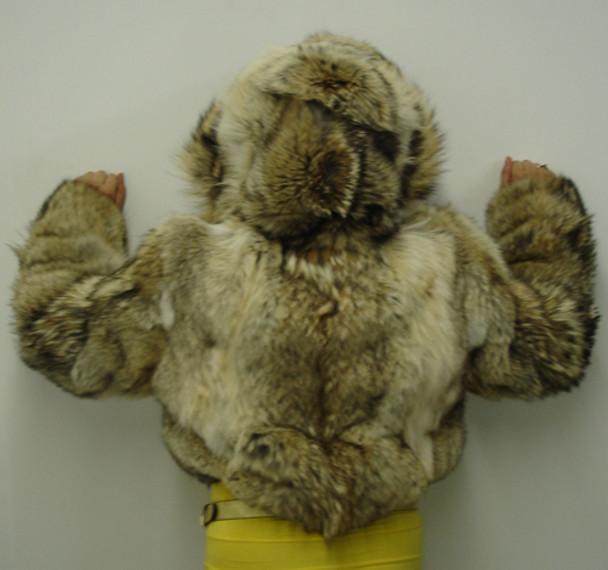 Coyotte Fur Bolero Jacket