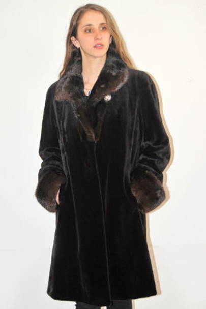 Reversible Share Mink Coat