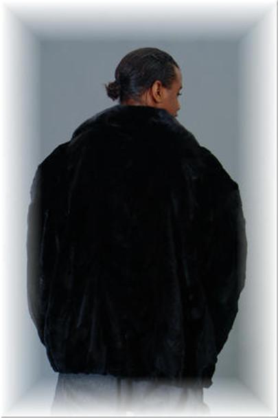 Sheared Mink Fur Bomber Jacket