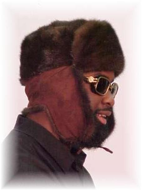 Mahogany Mink Trooper Fur Hat 1