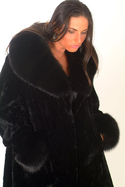 Mink Long Coat