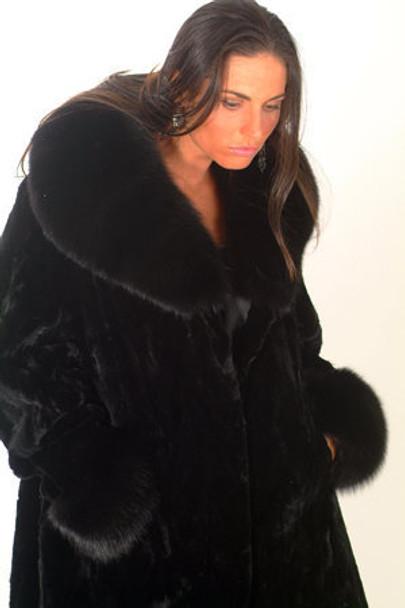 Mink Long Coat