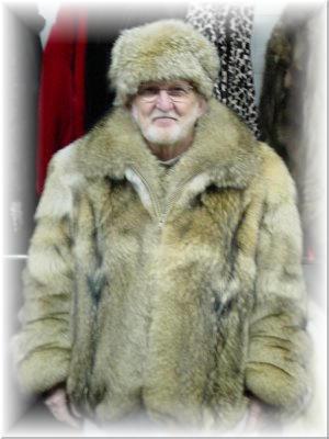 Coyote Fur Coat >> Full Skin Coyote Fur Jacket
