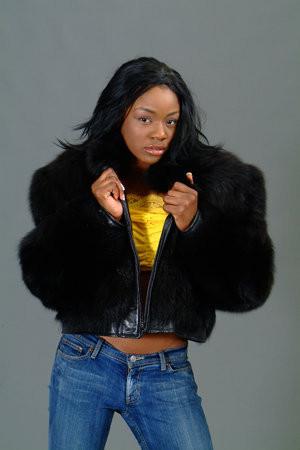 eb75036a78b Full Skin Black Fox Bolero Fur Jacket - furoutlet - fur coat