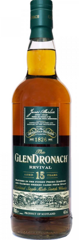Glendronach Revival 15 year