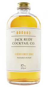 Jack Rudy Elderflower Tonic