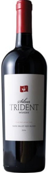 """Silver Trident """"Playing with Fire"""" Red Blend"""
