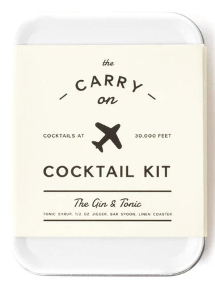 Carry on Cocktail Kit - Gin and Tonic