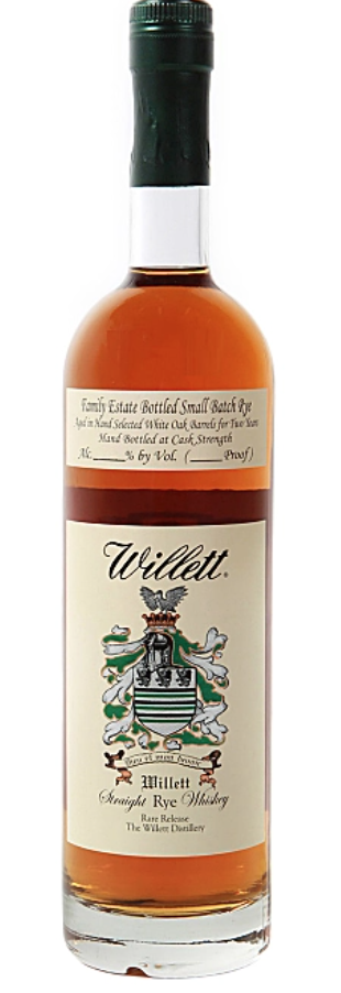 Willett 4 Year Rare Rye