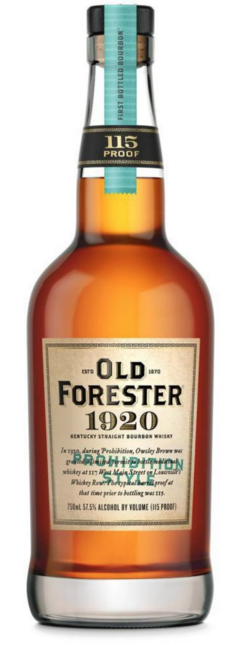Old Forester Bourbon 1920 Prohibition Style