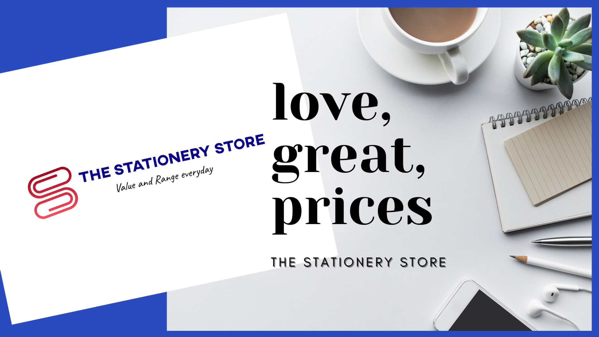 The Stationery Store banner bulk prices