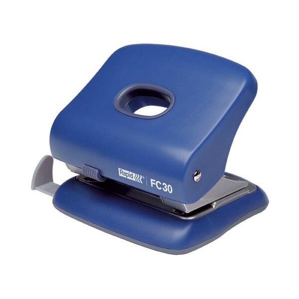 Rapid Punch 2 Hole 30 Sheet Fc30 Blue 0265194