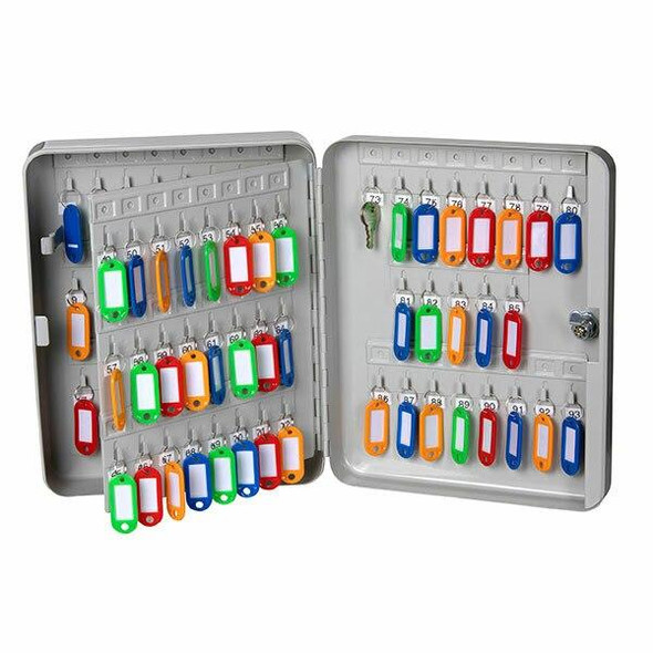 Esselte Key Cabinet Grey 93 Keys 0306230