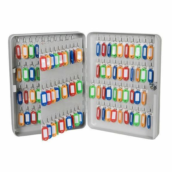 Esselte Key Cabinet Grey 140 Keys 0306240