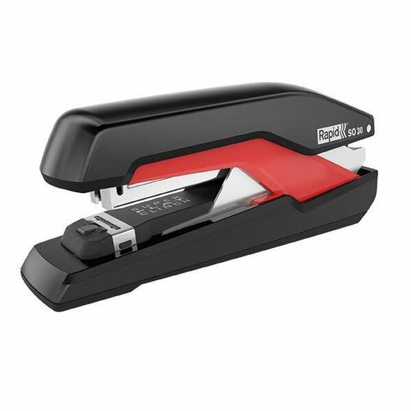 Rapid Stapler Full Strip So30 Black/Red 0328791