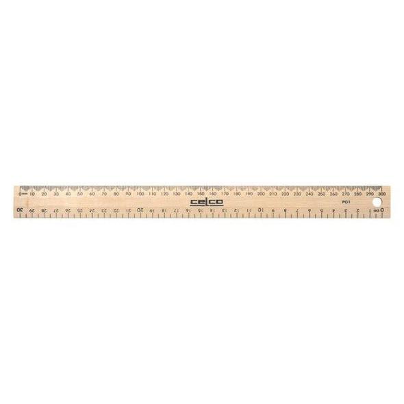 Celco Ruler 30cm X CARTON of 25 0331910