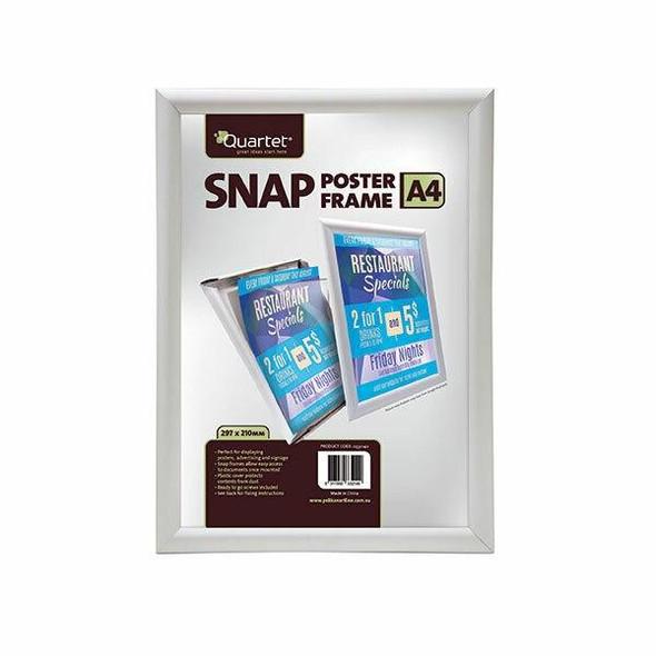 Quartet Display Board Snap Frame A4 25mm 0332140