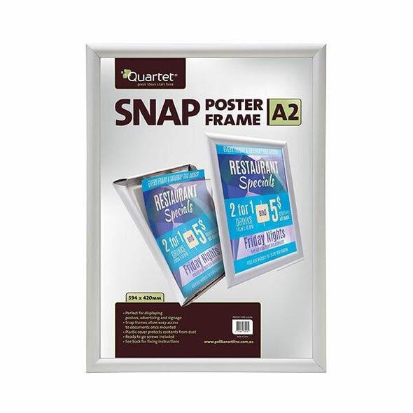 Quartet Display Board Snap Frame A2 25mm 0332160