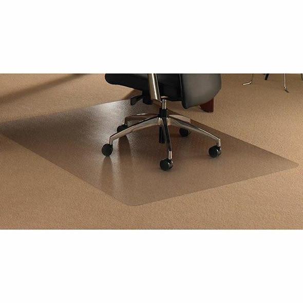 FLOORTEX Chairmat Ultimat Polycarbonate Plush Rectangle 120x134cm 0349470