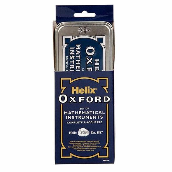 Helix Oxford Math Set Economy Blue 0352400