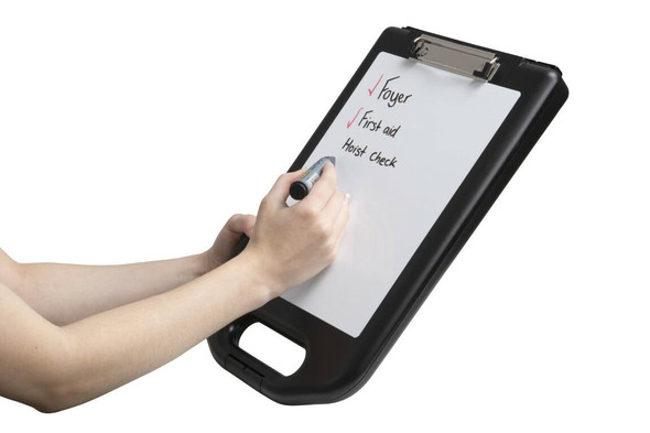 Marbig Professional Storage Clipboard With Whiteboard 0368510