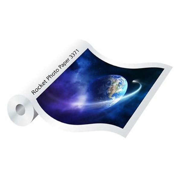 SiHL Rocket Photo Paper 3371 Gloss 190gsm 1270mmx30m 0376030