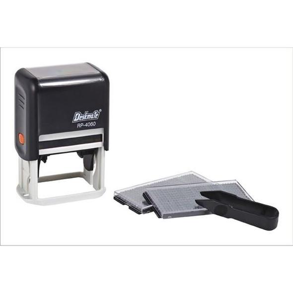 Deskmate Diy Stamp Kits 6 Lines 3mm/4mm Text Black 0378610
